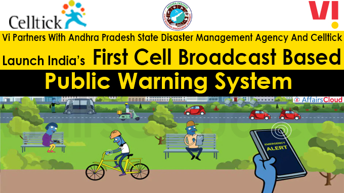 Vi Launch India's First Cell Broadcast Based Public Warning System