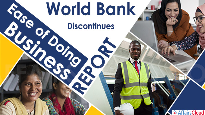 """World Bank discontinues """"Ease of Doing Business"""" report"""