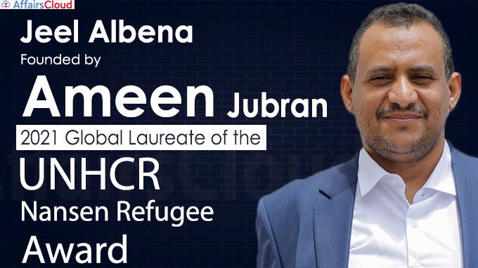2021 UNHCR Nansen Refugee Award
