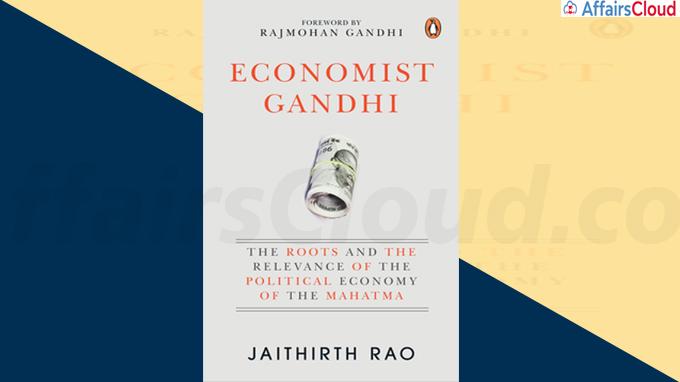 A Book titled Economist Gandhi