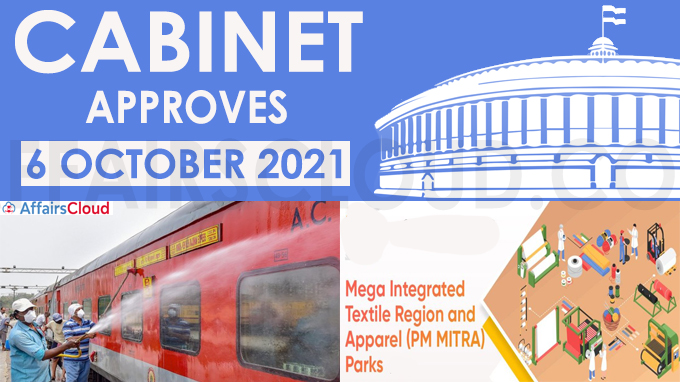 Cabinet Approves October 2021