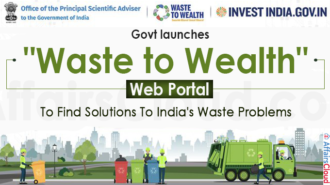 Centre Launches Web Portal To Find Solutions To India's Waste Problems