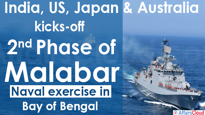 India, US, Japan & Australia kicks-off second phase of Malabar naval exercise in Bay of Bengal (1)
