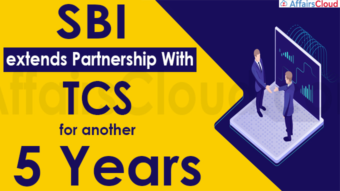 SBI extends partnership with TCS for another 5 years