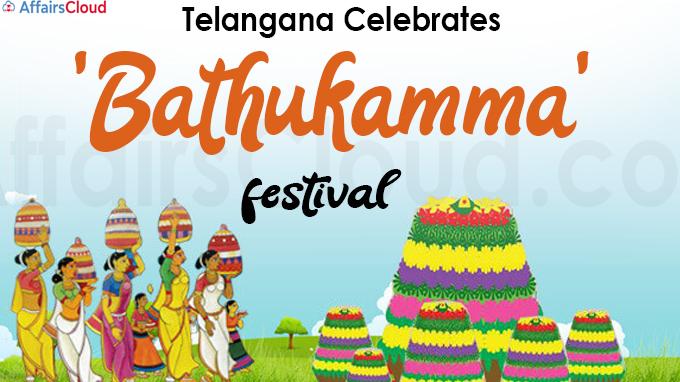 Telangana Celebrates 'Bathukamma' festival