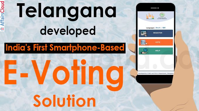 Telangana develops India's first smartphone-based eVoting solution