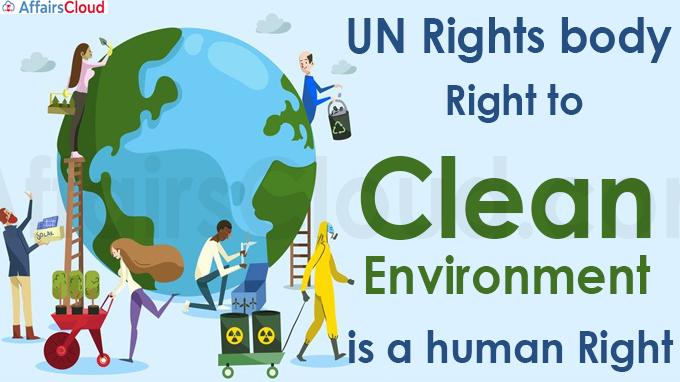 UN declares access to a clean environment a human right (1)