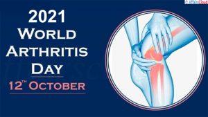 World Arthritis Day - October 12 2021 copy