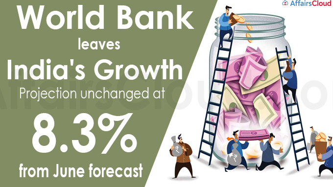 World Bank leaves India's growth projection