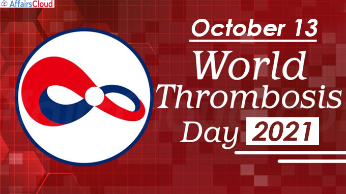 World Thrombosis Day - October 13