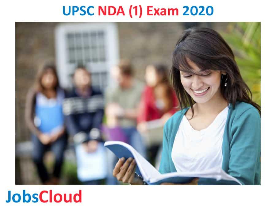UPSC NDA (1) Exam 2020